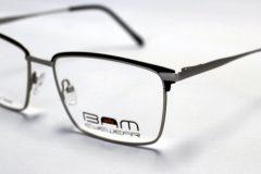 BAM508-Matte Black-Silver