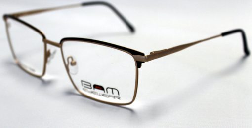 BAM508-Matte Brown-Gold