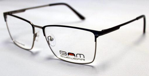 BAM509-Navy Blue-Silver